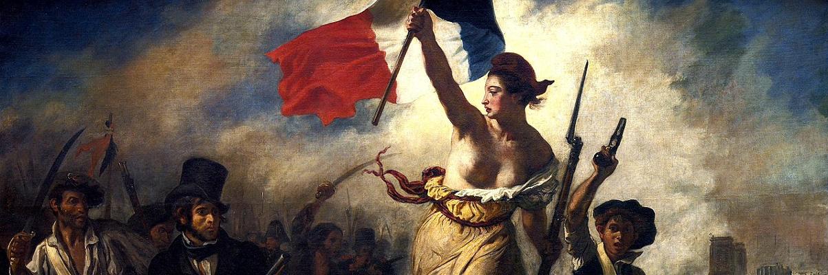 La liberté guidant le peuple (Liberty Leading the People), by Eugène Delacroix (1830)
