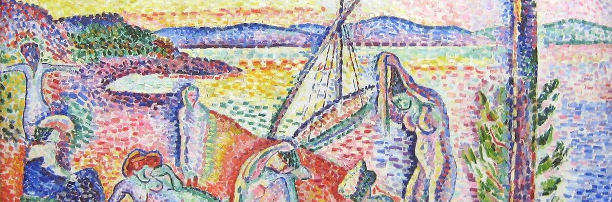 "Luxe, Calme et Volupté (""Luxury, Calm and Pleasure"") by Henri Matisse, 1904"