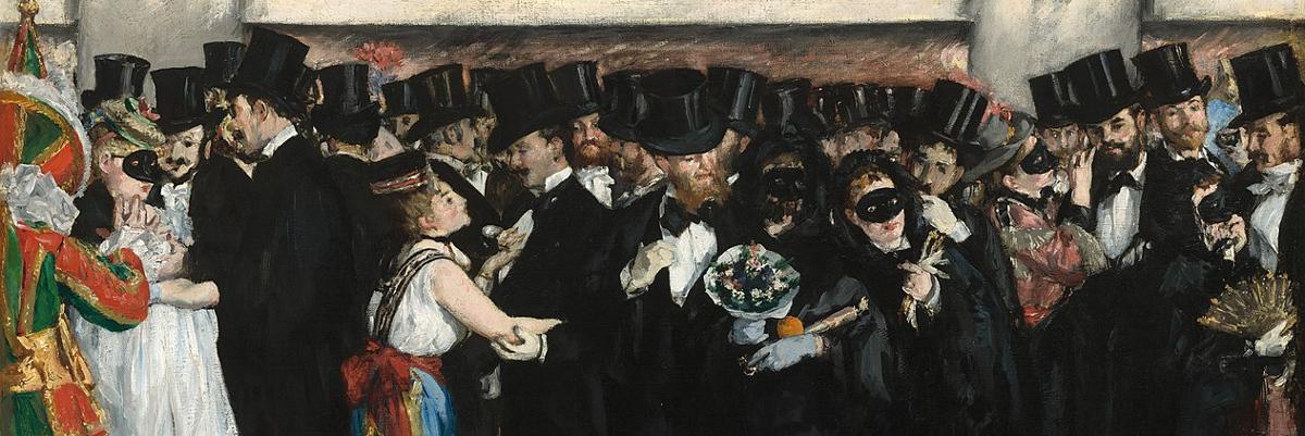 Masked Ball at the Opera, Edouard Manet (1873)