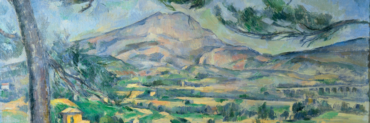 Mont Sainte-Victoire by Paul Cézanne (1887)