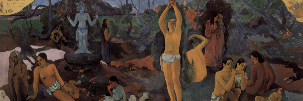 D'où venons-nous ? Que sommes-nous ? Où allons-nous ? (Where do we come from? Who are we? Where are we going?) by Paul Gauguin (1897)